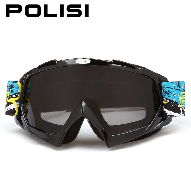POLISI Motocross Off-Road Goggles Motorcycle Dirt Bike MBX Downhill Ski Glasses Airsoft Paintball ames Protective Eyewear