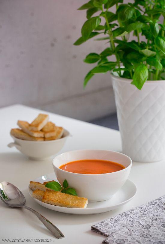 ◊◊◊◊◊◊Zupa krem z pomidorów