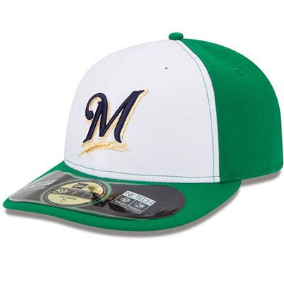 Milwaukee Brewers New Era Low Crown St. Patrick's Day On-Field 59FIFTY Fitted…