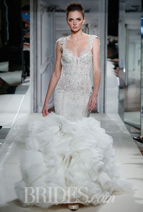 Pnina Tornai For Kleinfeld 2014 Mermaid Wedding