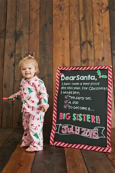 Try this if your kid is asking for a sibling this year from Santa.