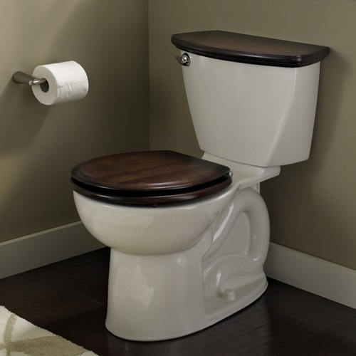 American Standard Cadet 3 Right Height Round Toilet 10 Rough Wood Toilet Seat Toilet Tank Covers Toilet Tank