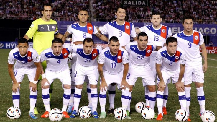 Chile National Football Team World Cup 2014 (World Cup 2014)