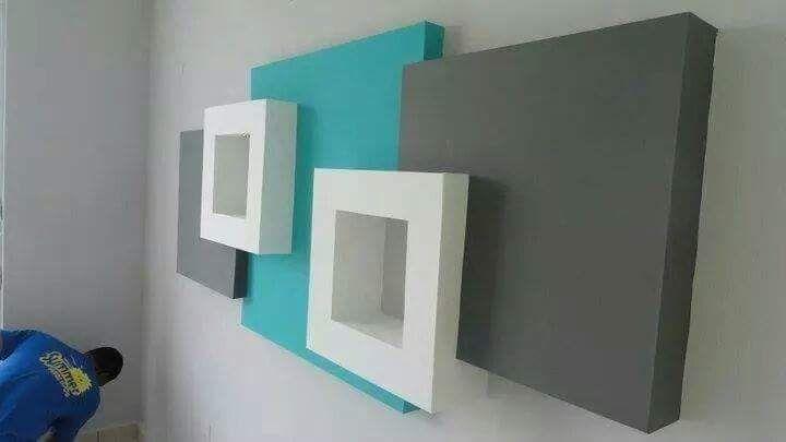 Foam Letters Wall Decor : Styrofoam wall art