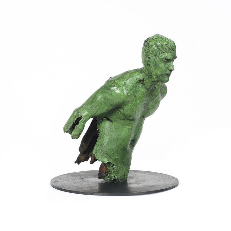 "Adriaan Diedericks / ""Fig. (Maquette)"" / Bronze or Resin / Ed of 12 / 24 x 18 x 18cm"