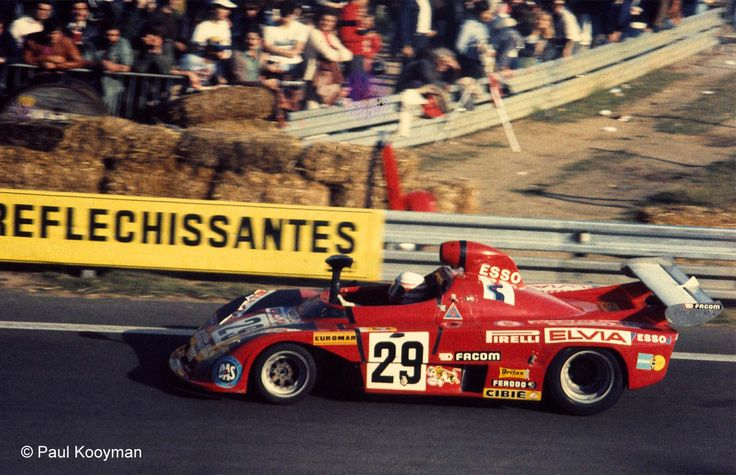 1977 Osella PA 5 BMW (1.993 cc.) (A)  Alain Cudini  Raymond Touroul  Anna Cambiaghi