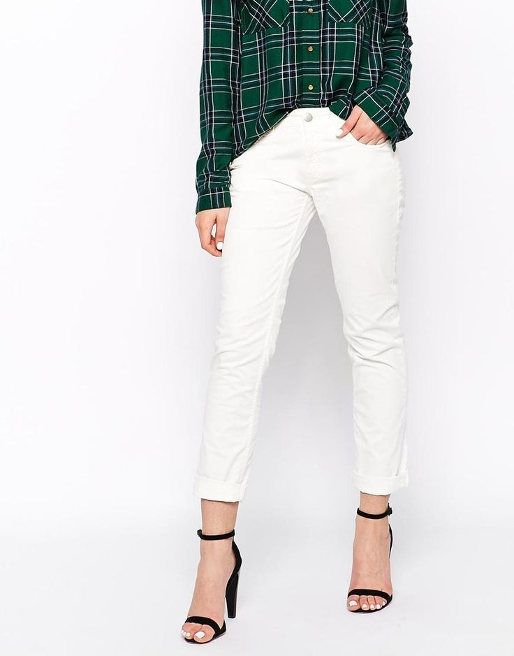 French Connection | French Connection Flora Cotton White Skinny Jeans at ASOS