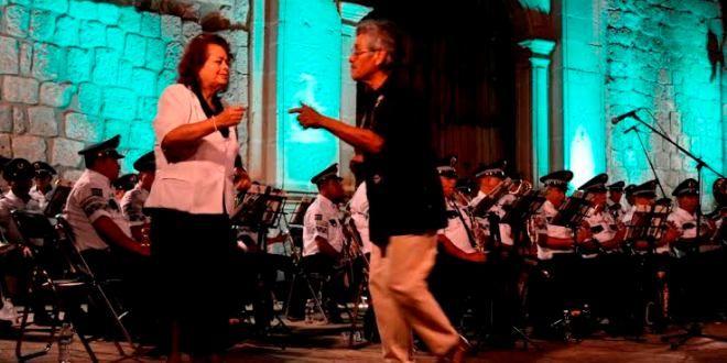 Oaxaca Digital | Noche de alegría obsequió banda de música de la policía estatal
