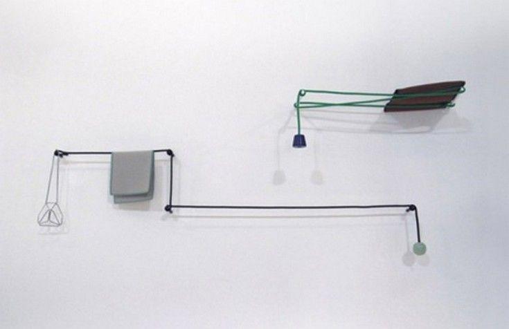 Minimalist Towel Rail - http://homeypic.com/minimalist-towel-rail-2/