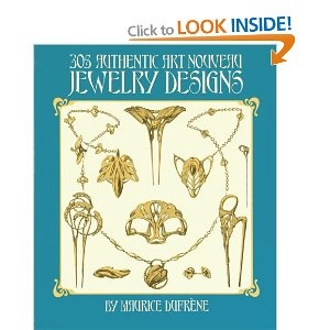 305 Authentic Art Nouveau Jewellery Designs Dover Jewelry and Metalwork: Amazon.co.uk: Maurice Dufrene: Books