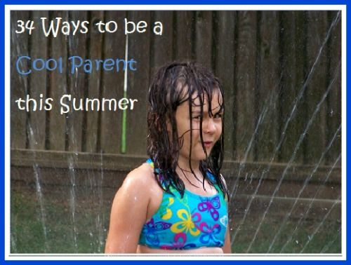 34 Ideas for Summer Fun - free, easy & fun things to do with the kids that will make memories this summer! GREAT IDEAS