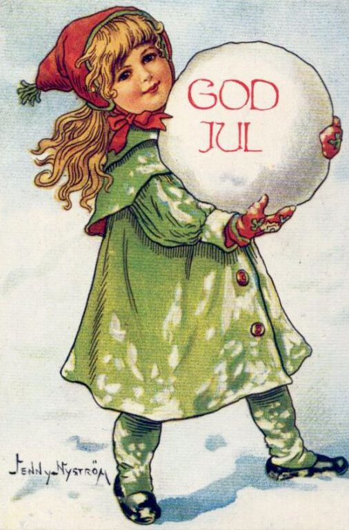 JENNY NYSTROM | Vintage Christmas Postcard | Flickr - Photo Sharing!