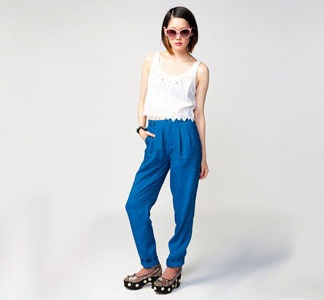 Fab blue pants from Uncovet