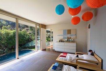 Greentree - Midcentury - Kids - Santa Barbara - Shubin + Donaldson Architects, Inc.