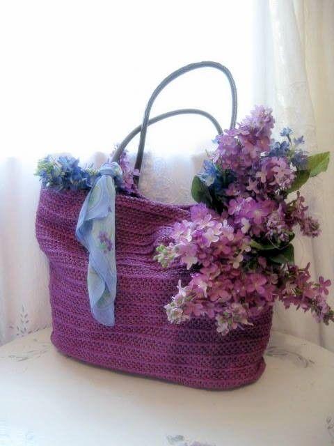 .: Sweet Tea, Purple Baskets, Pretty Pur, Purple Bags, Purple Flowers, Lilacs Purple, Colors Combinations, Blue Bouquets, Purple Bouquets