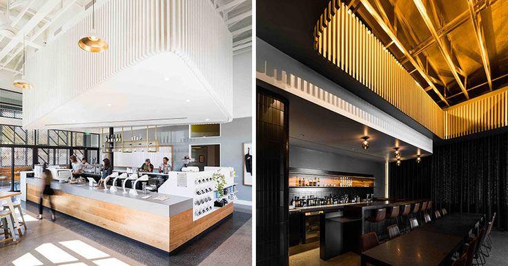 Best images about interiors restaurants on pinterest