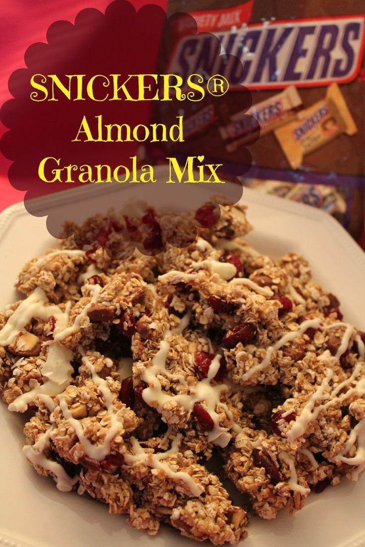 SNICKERS® Almond Granola Mix is the best way to get back to your normal when hunger hits. #ad #WhenImHungry