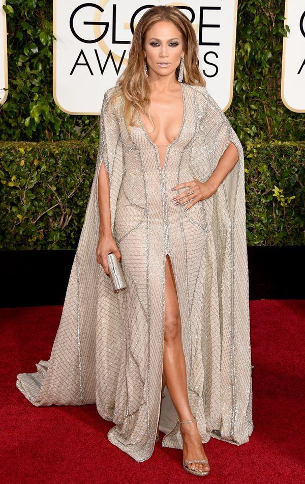 Golden Globes 2015 Jennifer Lopez in Zuhair Murad | blog.theknot.com