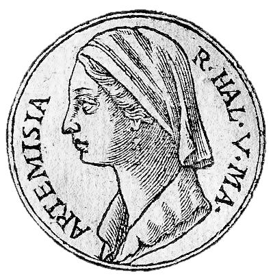 Artemesia I - queen of the Achaemenid Persian satrapy province of Caria, mostly known through the writings of Herodotus for taking the side of the Persian king Xerxes during the Greco-Persian wars. Her father was the satrap ofHalicarnassus Lygdamis I (Greek: Λύγδαμις Α') [1][2] and her mother was from the island of Crete.[3][4] She took the throne after the death of her husband, as she had a son, named Pisindelis (Greek: Πισίνδηλις), who was still a youth.