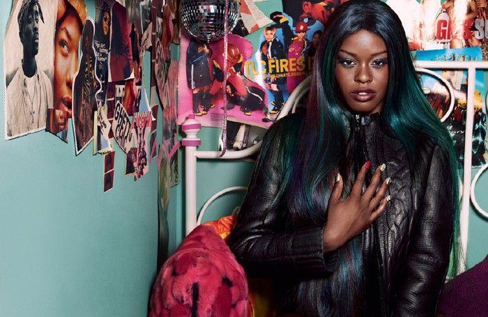 THAT HAIR. Azealia Banks, Dazed