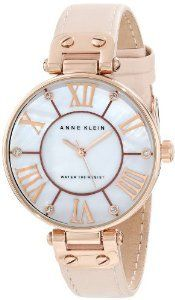 For the wrist. Anne Klein 10 9918rglp Rosegold Tone