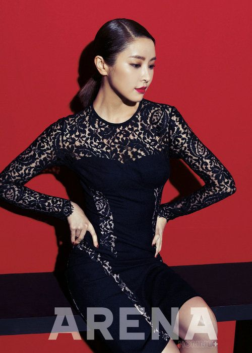 Jung Yoo Mi Arena Homme+ Korea Magazine February Issue '13