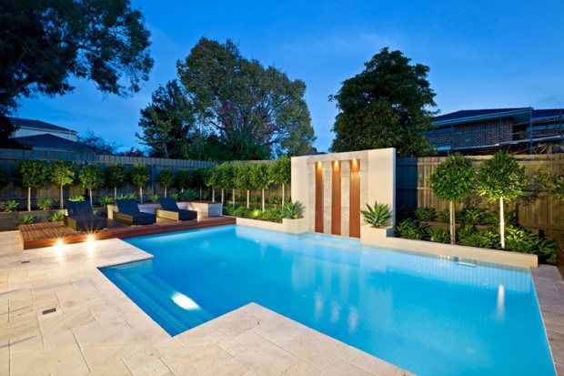 If you are trying to choose between granite, bluestone and travertine for use as paving around swimming pools, you might also like to consider the effect of glare on the area. Remember that darker colours will create less glare than lighter ones.