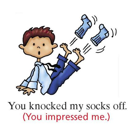 To knock someone's socks off -         Repinned by Chesapeake College Adult Ed. We offer free classes on the Eastern Shore of MD to help you earn your GED - H.S. Diploma or Learn English (ESL) .   For GED classes contact Danielle Thomas 410-829-6043 dthomas@chesapeke.edu  For ESL classes contact Karen Luceti - 410-443-1163  Kluceti@chesapeake.edu .  www.chesapeake.edu