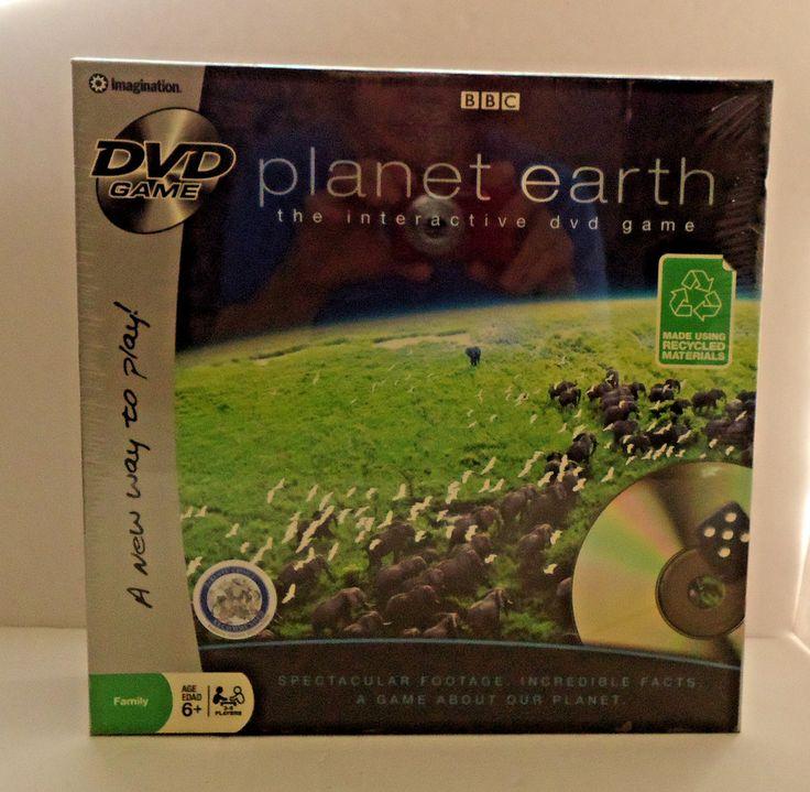 Imagination BBC Planet Earth Interactive DVD Game Sealed NIP #Imagination