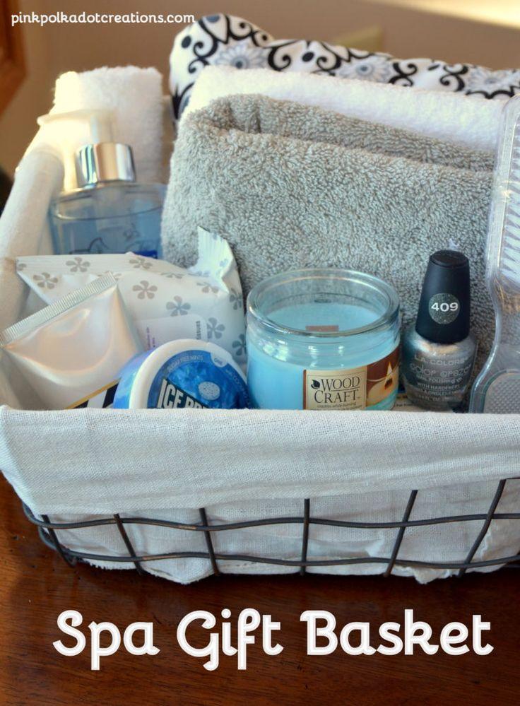 Charming Spa Gift Basket