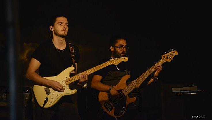 April Ivy's live show at Arripiado, Chamusca, with Feodor Bívol.