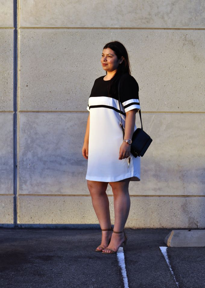 Plus Size Fashion - Jay Miranda wearing sporty dress by Forever21