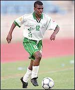 Saudi Arabia defender Ahmed Al-Dukhi