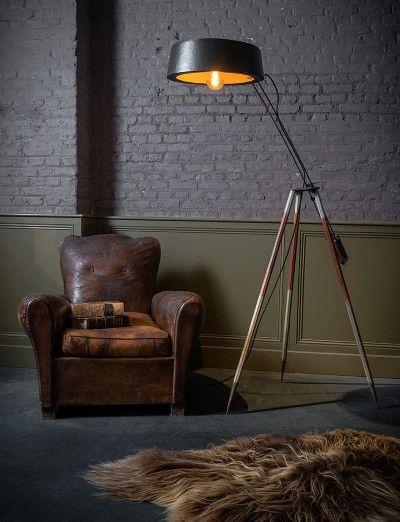 Unieke verlichting Horse (Gert Van Dessel) - Unique piece of lighting art by artist Gert Van Dessel - #WoonTheater