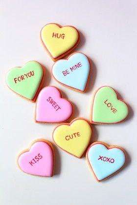 バレンタインハートのアイシングクッキー by YCsweets [クックパッド ...