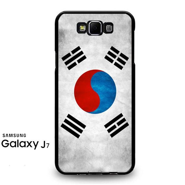 South Korea Flag Samsung Galaxy J7 Prime Case