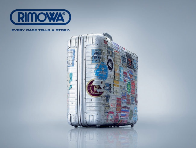 Rimowa: Suitcase + Stickers