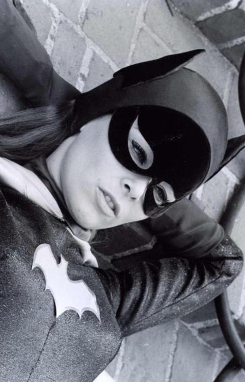 Batwoman chillin