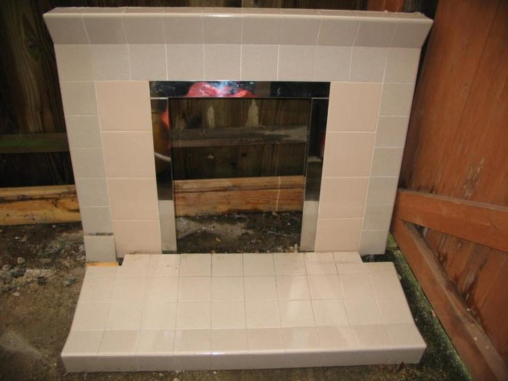 tiled fireplaces - Yahoo Image Search Results