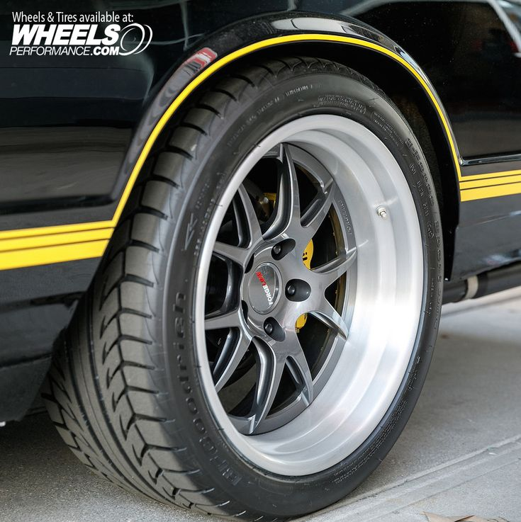 """Barrett-Jackson's """"Project Prestone"""" 1987 Chevy Monte Carlo on 18"""" Forgeline GA3 wheels finished with Pearl Gray centers & Brushed outers. Get a quote on these by calling 1.888.239.4335 or @WheelsPerformance"""