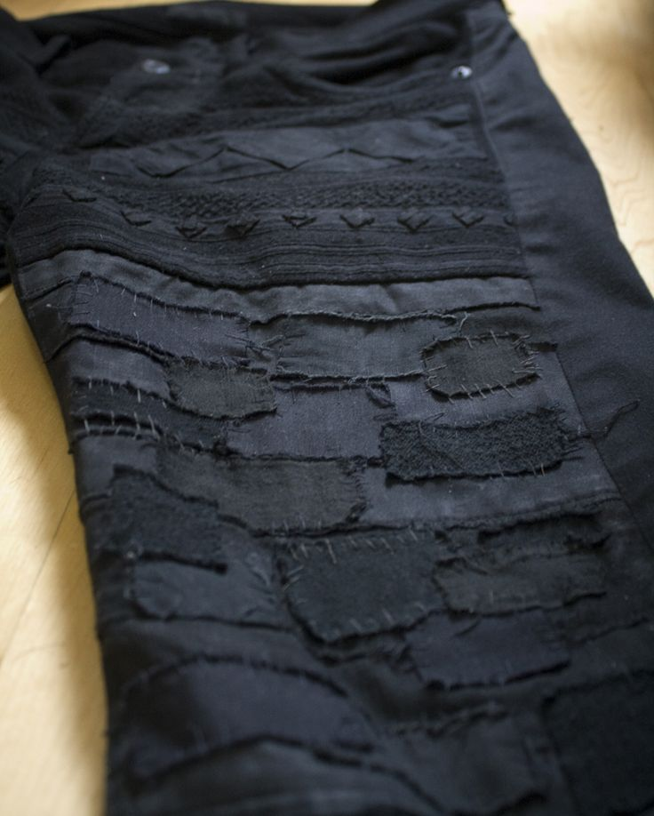 Undercover by Jun Takahashi -- SCAB jeans, detail