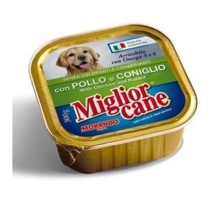 Miglior Cane Pate Tavşan ve Tavuklu Ezme Köpek Konservesi