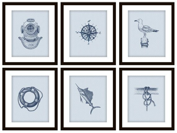 nautical prints - Google Search