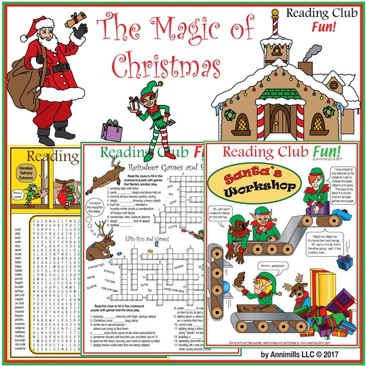 13 best Christmas Puzzle Fun images on Pinterest | Christmas puzzle ...