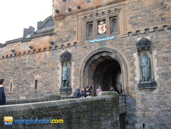 Il ponte del Castello di Edimburgo