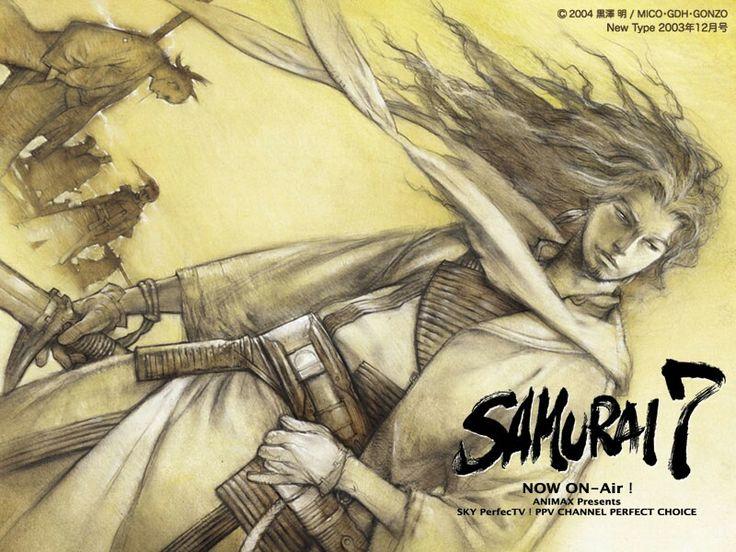 Samurai 7 Anime Characters : Best samurai images on pinterest
