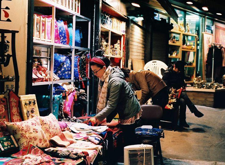 https://flic.kr/p/6ckyAY | Cloth in Colour | Taken at Insadong, Seoul