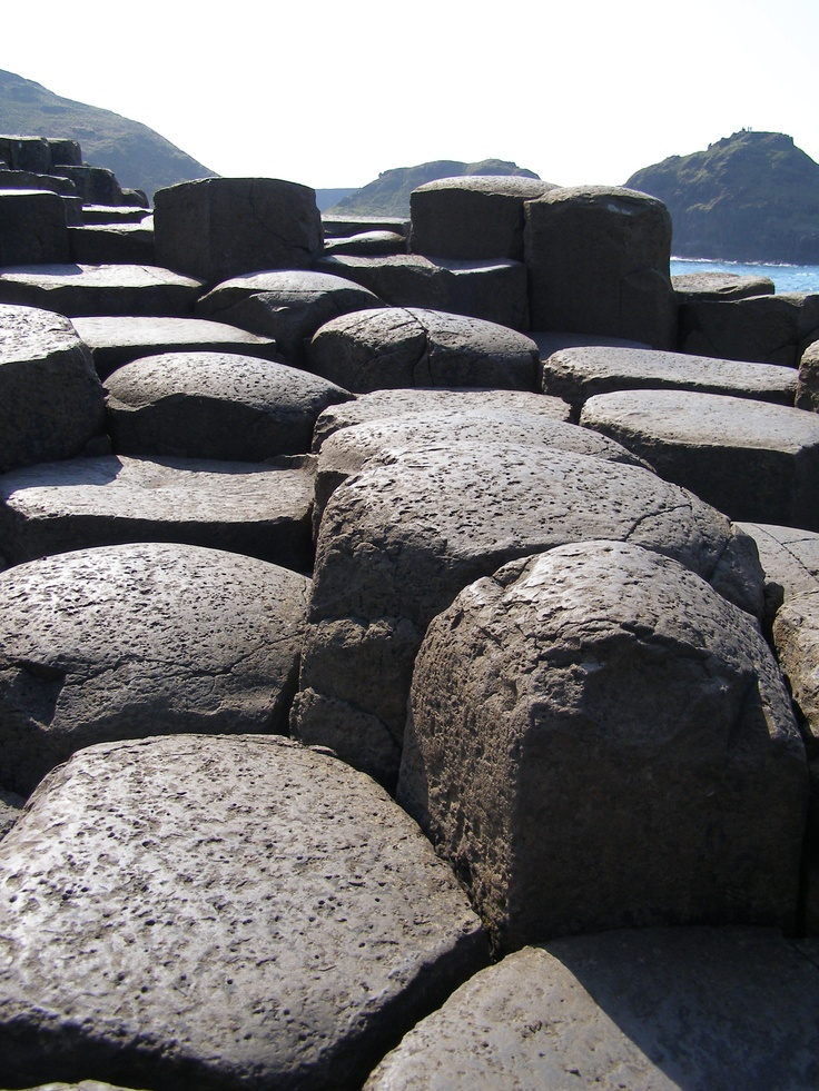 The amazing Giant's Causeway