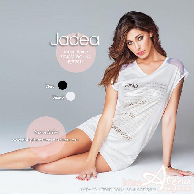 Per la bella collezione Jadea Primavera/Estate 2016, dedicata al dreamwear, la collezione Home realizza una camicia da notte Maxi maglia che unisce comodità ed un pizzico di malizia. #jadea #moda #pigiami #estate
