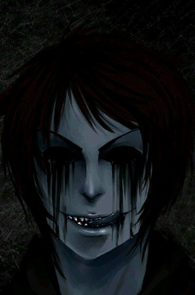 creepy Eyeless Jack Hey, I still think he is pretty hot, but that's just me.......................... O.O